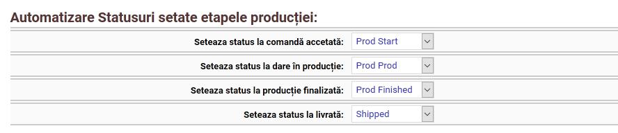 automatizare status-productie